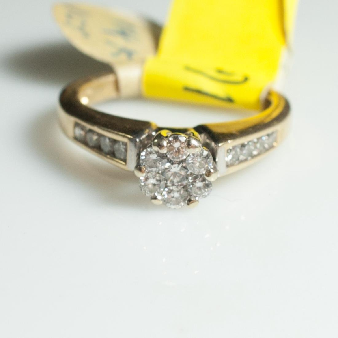 14kt Gold & Diamond Engagement Ring
