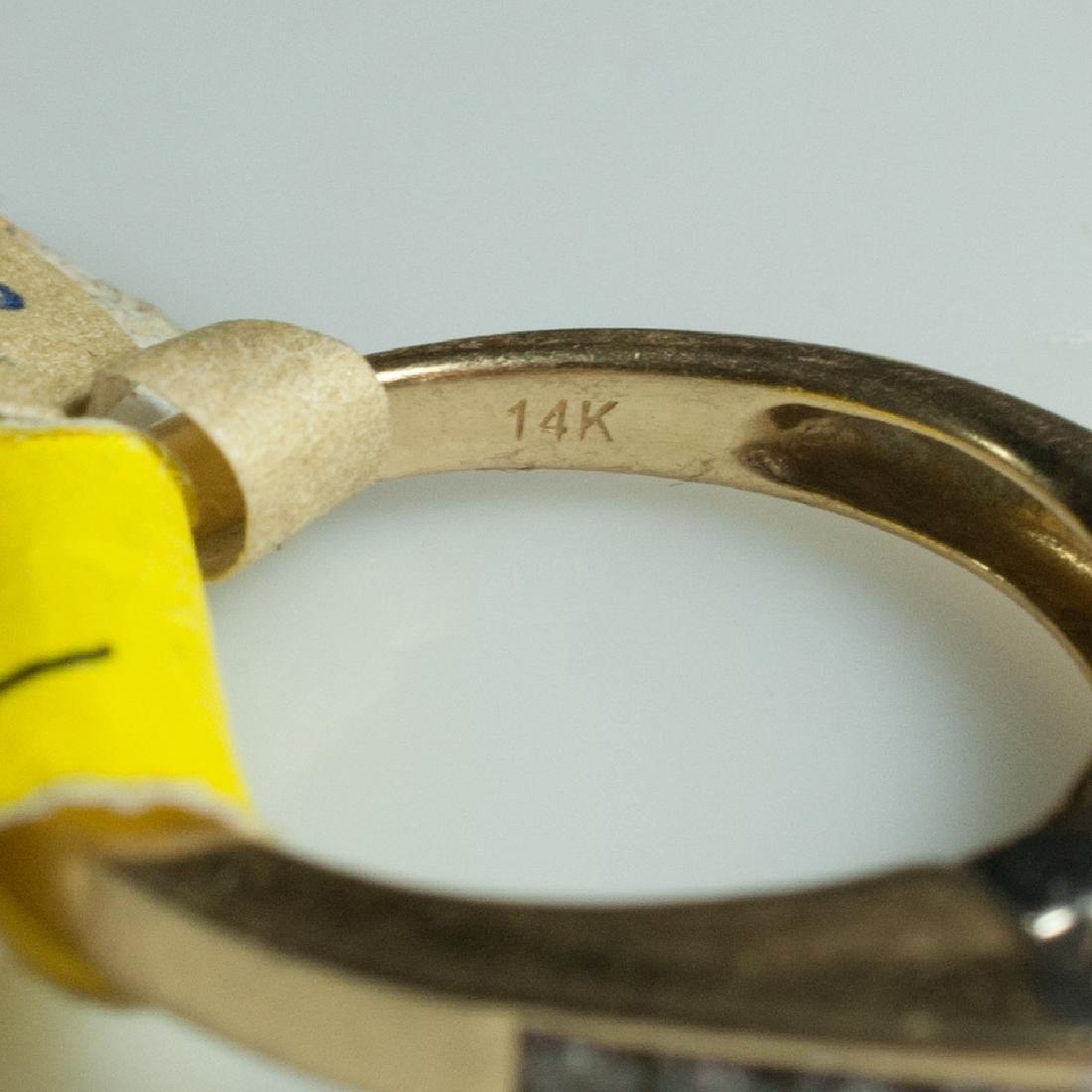 14kt Gold & Diamond Engagement Ring - 2