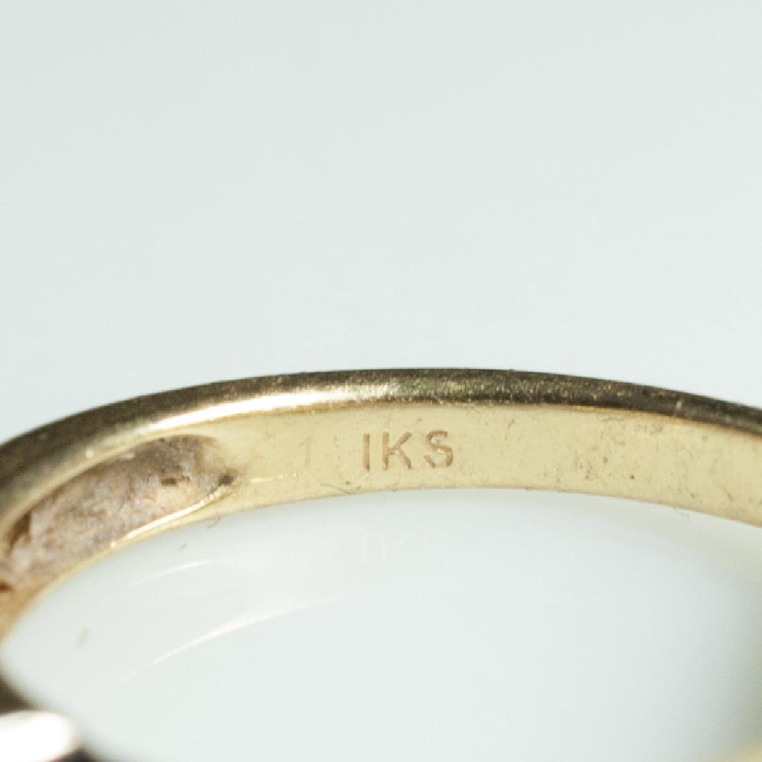 14kt Gold & Diamond Engagement Ring - 3