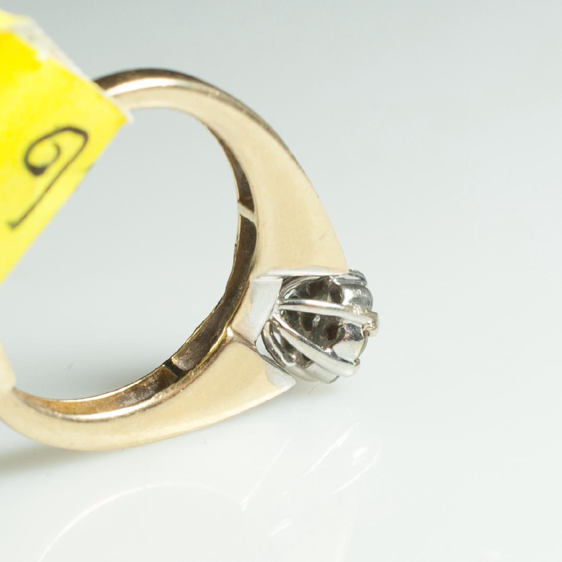 14kt Gold & Diamond Engagement Ring - 4