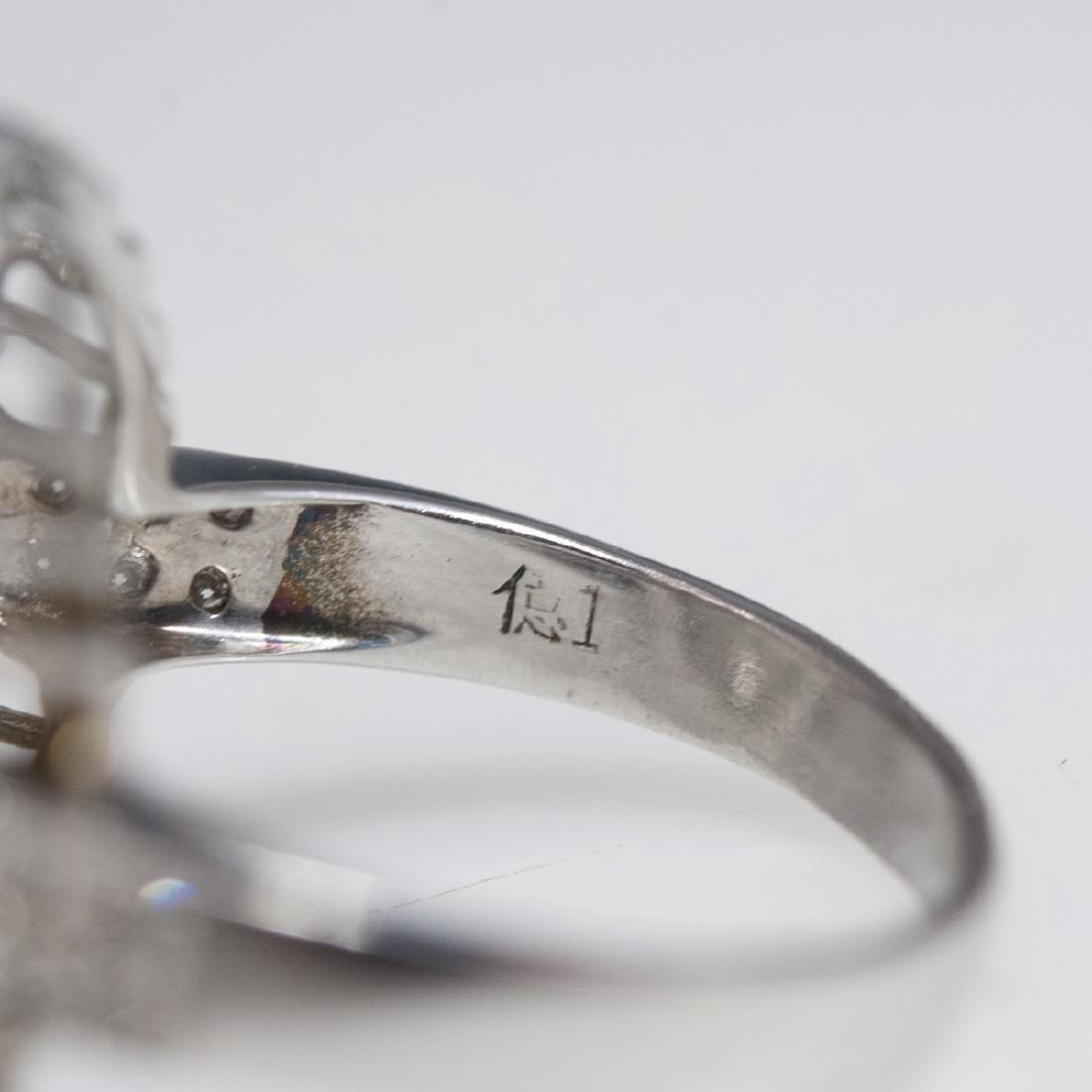 18kt Gold Diamond Ladies Ring - 3
