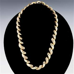 Italian 14kt Gold Necklace