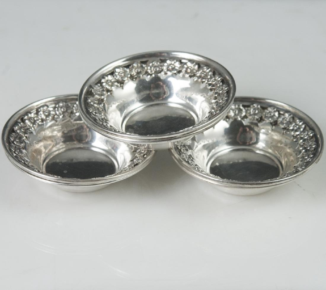National Silver Co. Sterling Nut Dishes