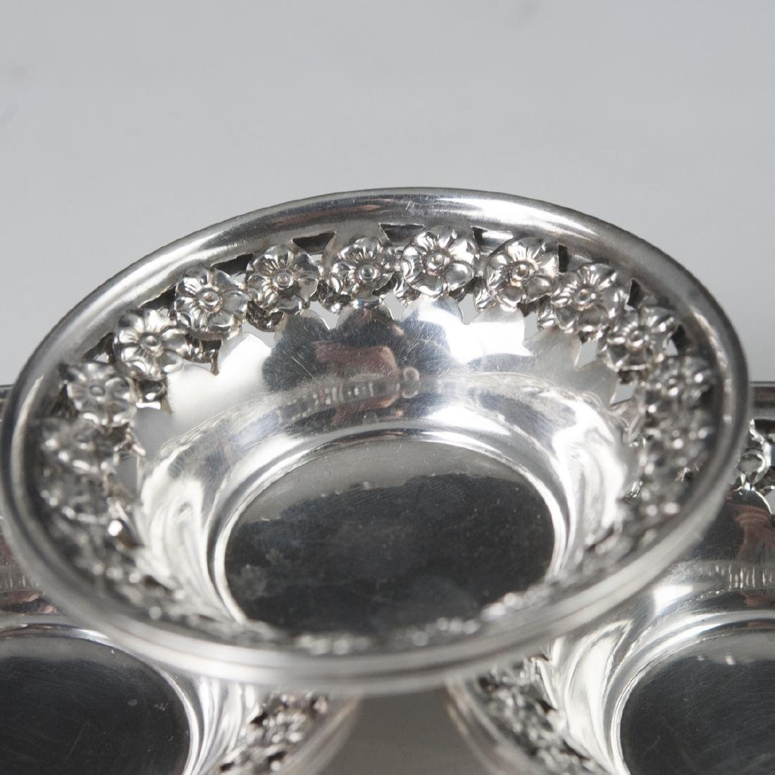 National Silver Co. Sterling Nut Dishes - 2