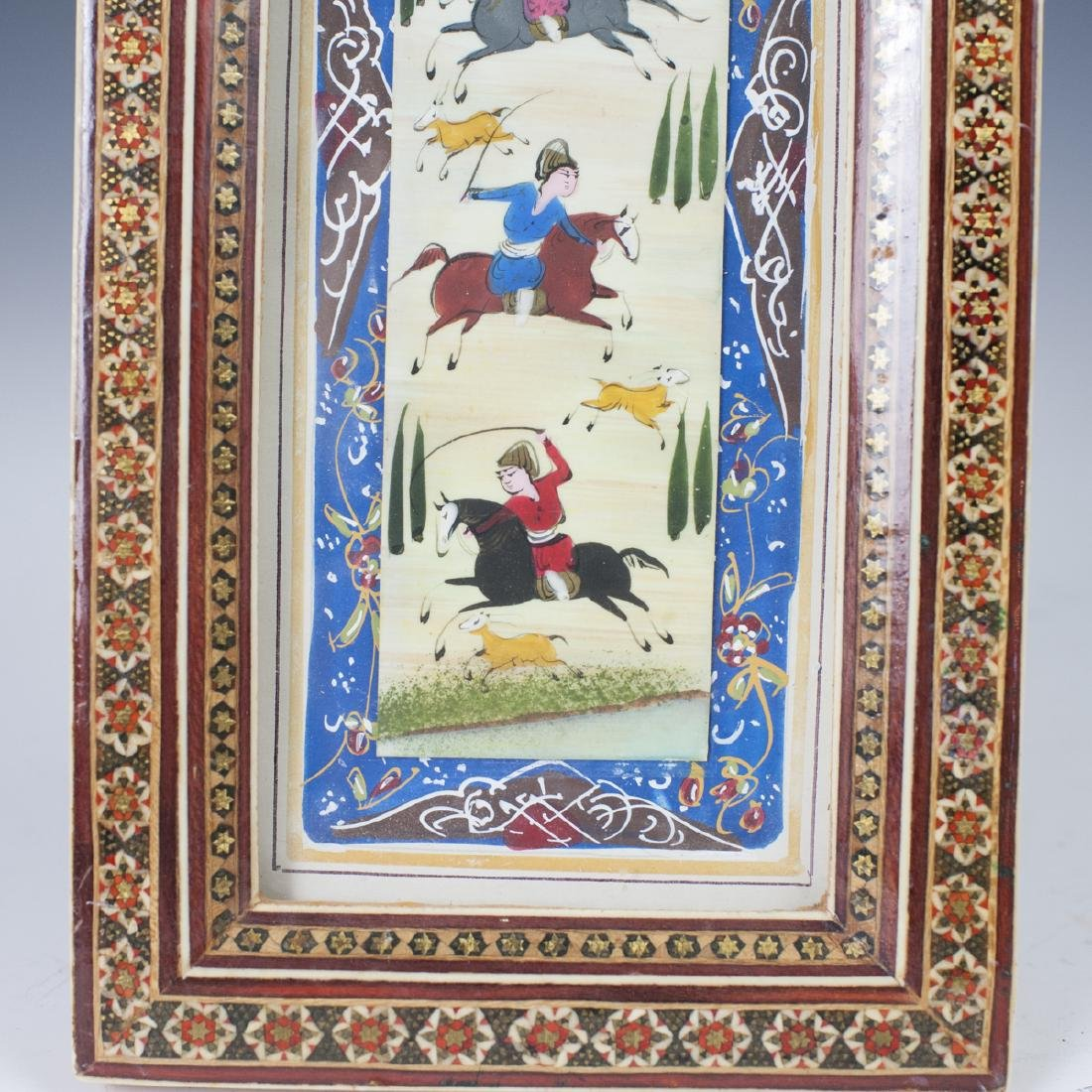 Persian Miniature Painting on Bone - 3