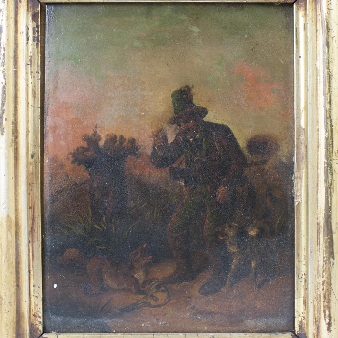 Antique Dutch Oil on Copper Paintings - 2