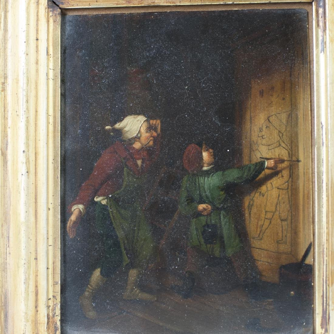 Antique Dutch Oil on Copper Paintings - 3