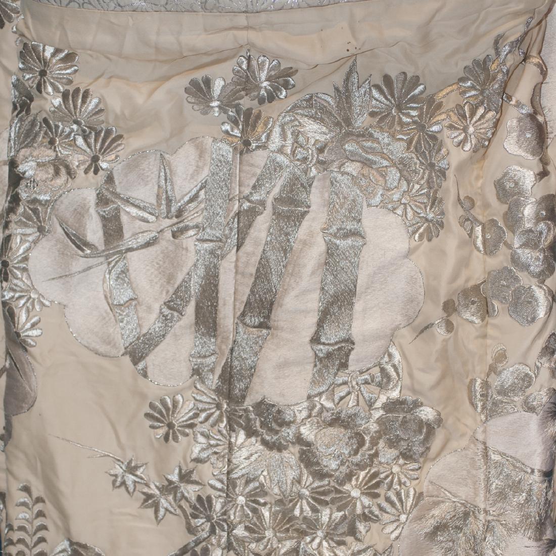 Vintage Japanese Silk Wedding Kimono - 5
