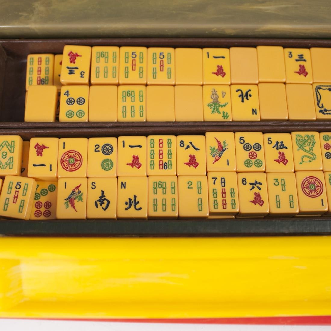 Antique Royal Depth Control Catalin Mahjong Set - 3