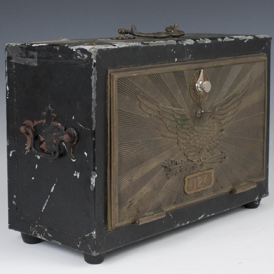 Antique U.S. Post Office Lock Box - 2