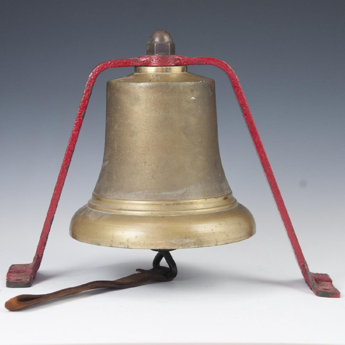 Antique British Quarterdeck Fire Bell