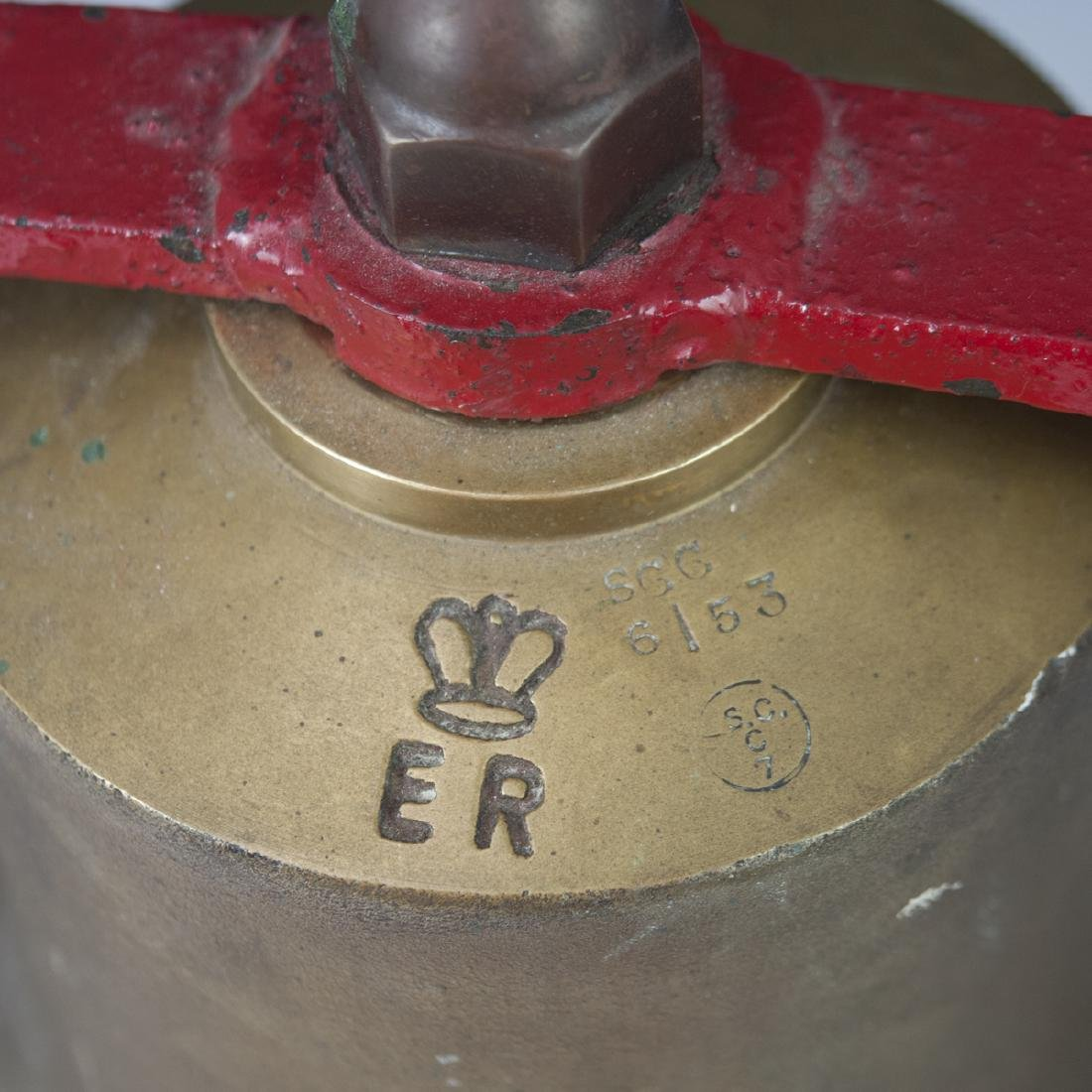 Antique British Quarterdeck Fire Bell - 2