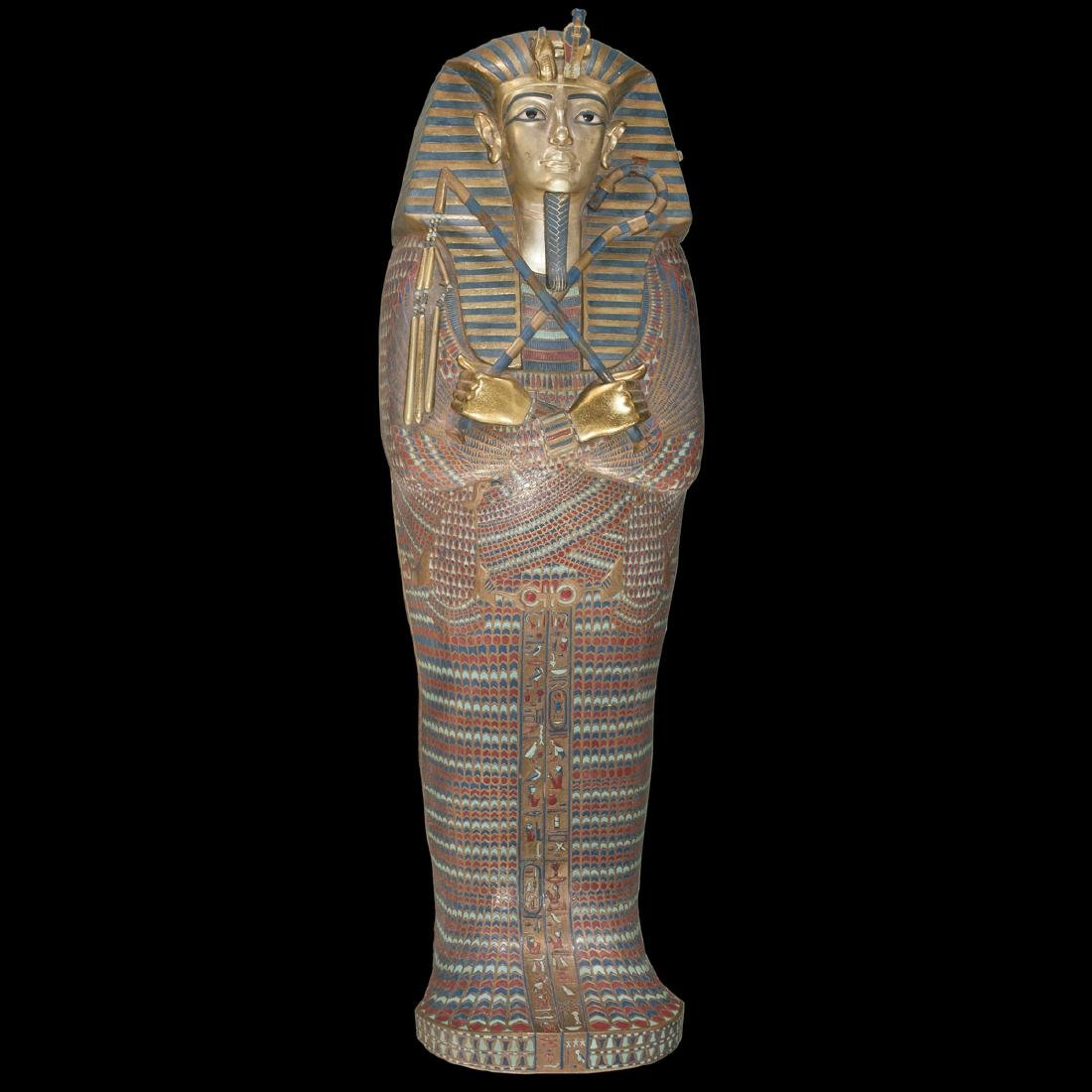 King Tut Replica Sarcophagus