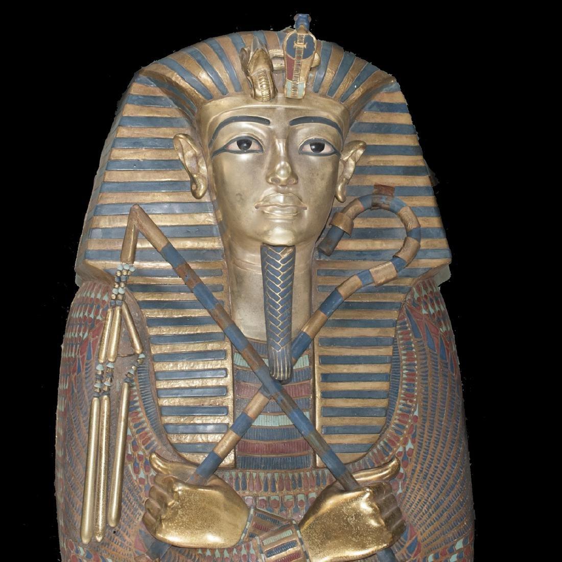 King Tut Replica Sarcophagus - 2