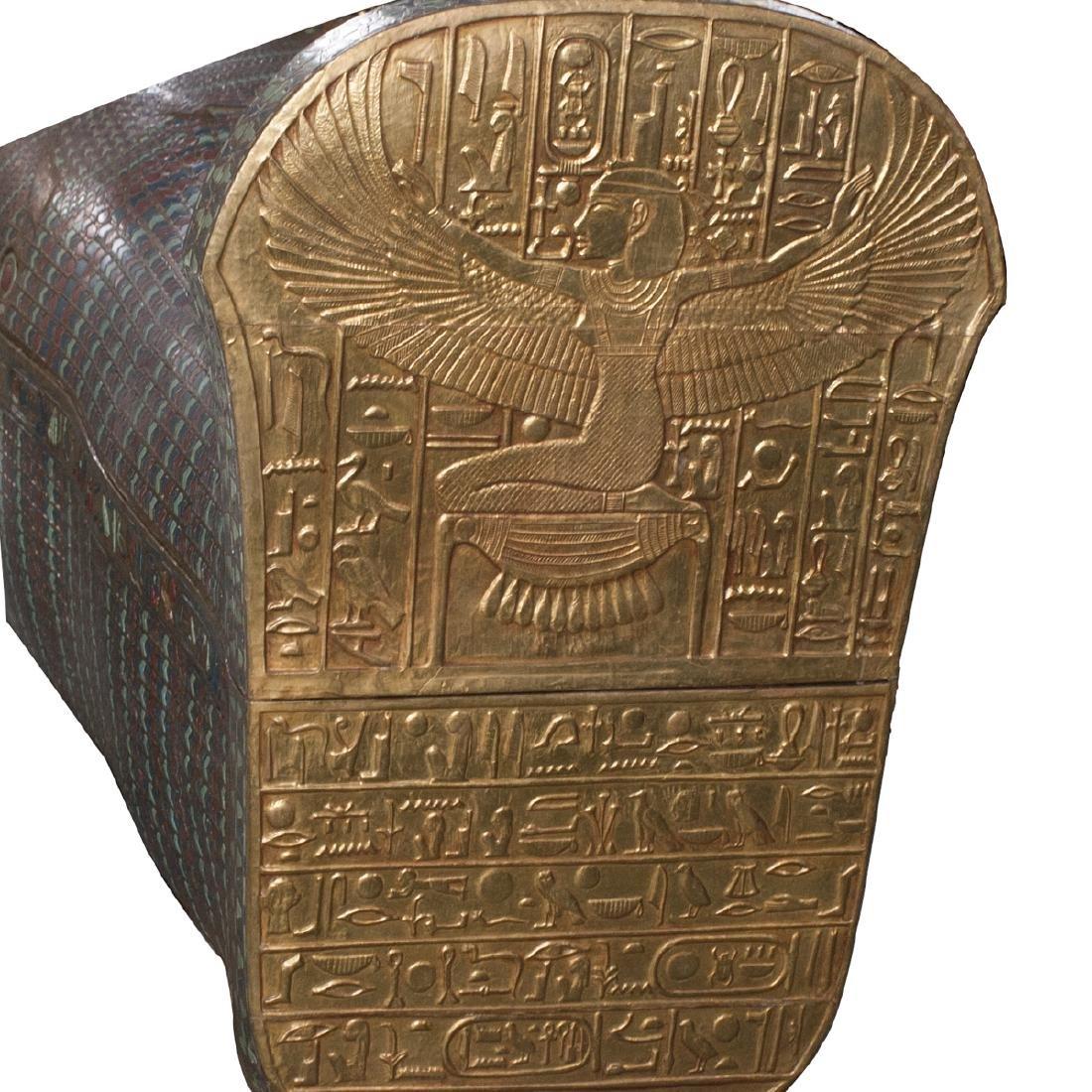 King Tut Replica Sarcophagus - 5