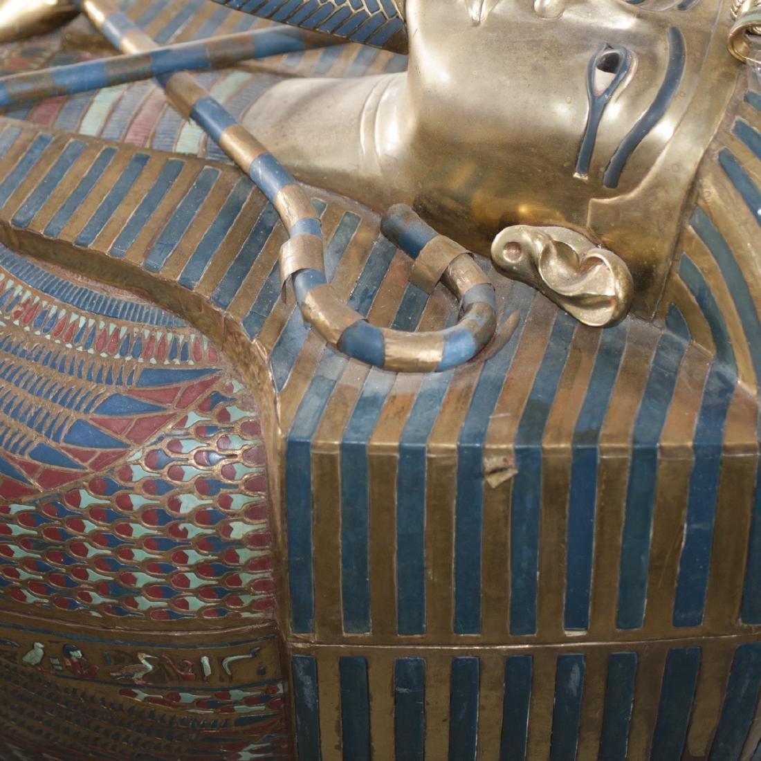King Tut Replica Sarcophagus - 6