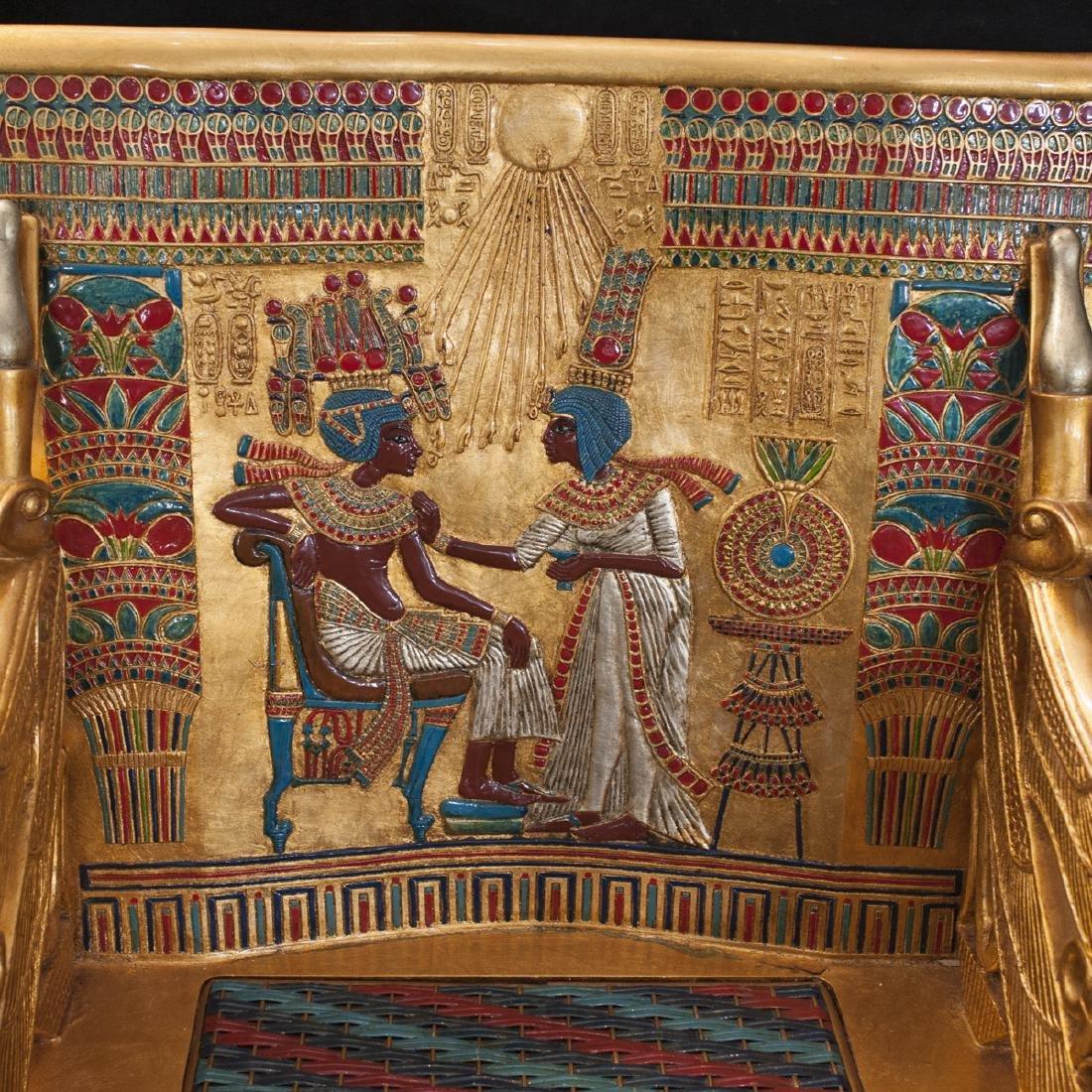 King Tut Replica Throne Chair - 2