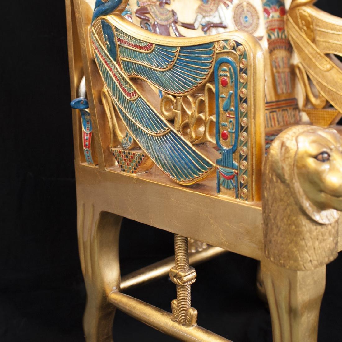 King Tut Replica Throne Chair - 5
