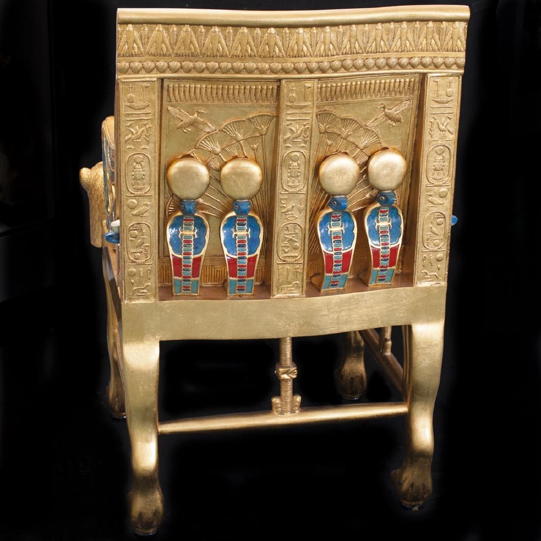 King Tut Replica Throne Chair - 6