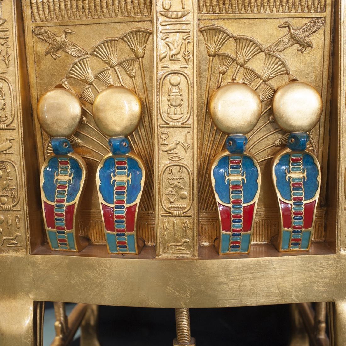 King Tut Replica Throne Chair - 7