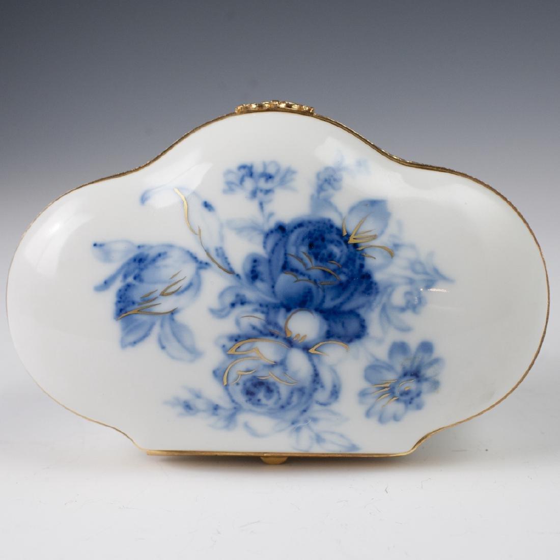 MNP Limoges Porcelain Dresser Box - 2