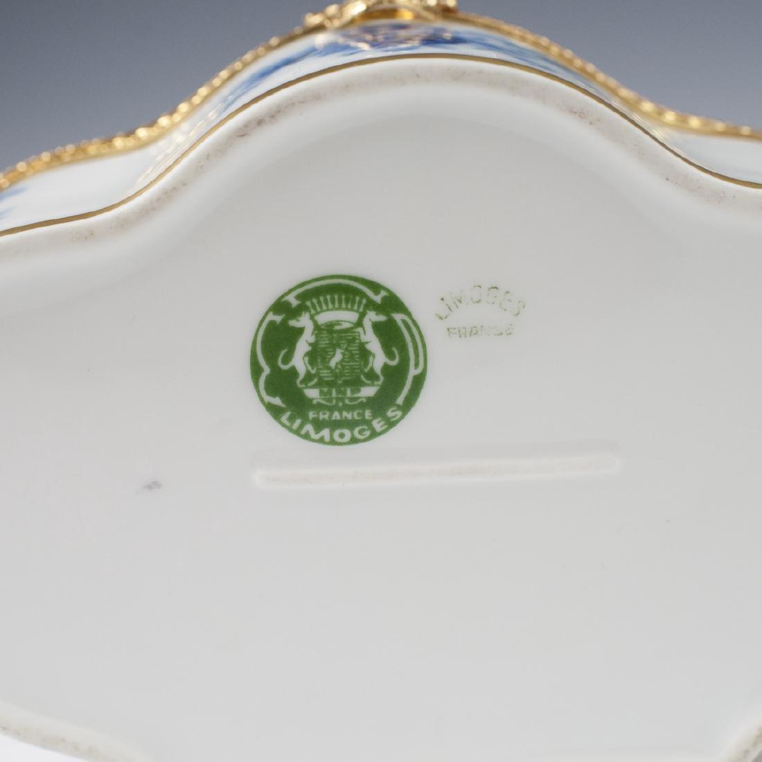MNP Limoges Porcelain Dresser Box - 3