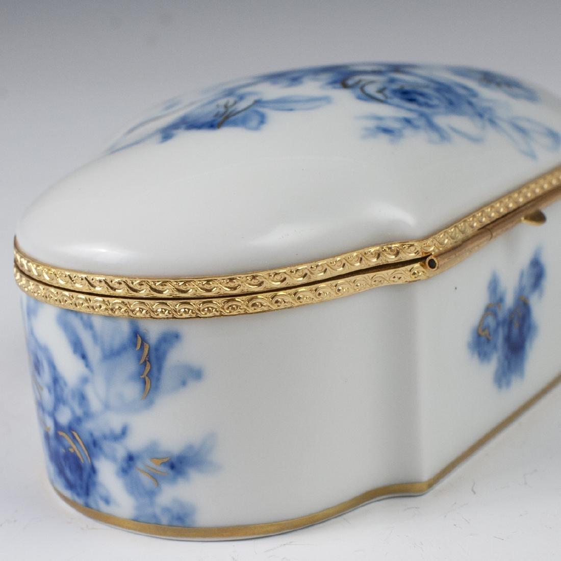 MNP Limoges Porcelain Dresser Box - 4