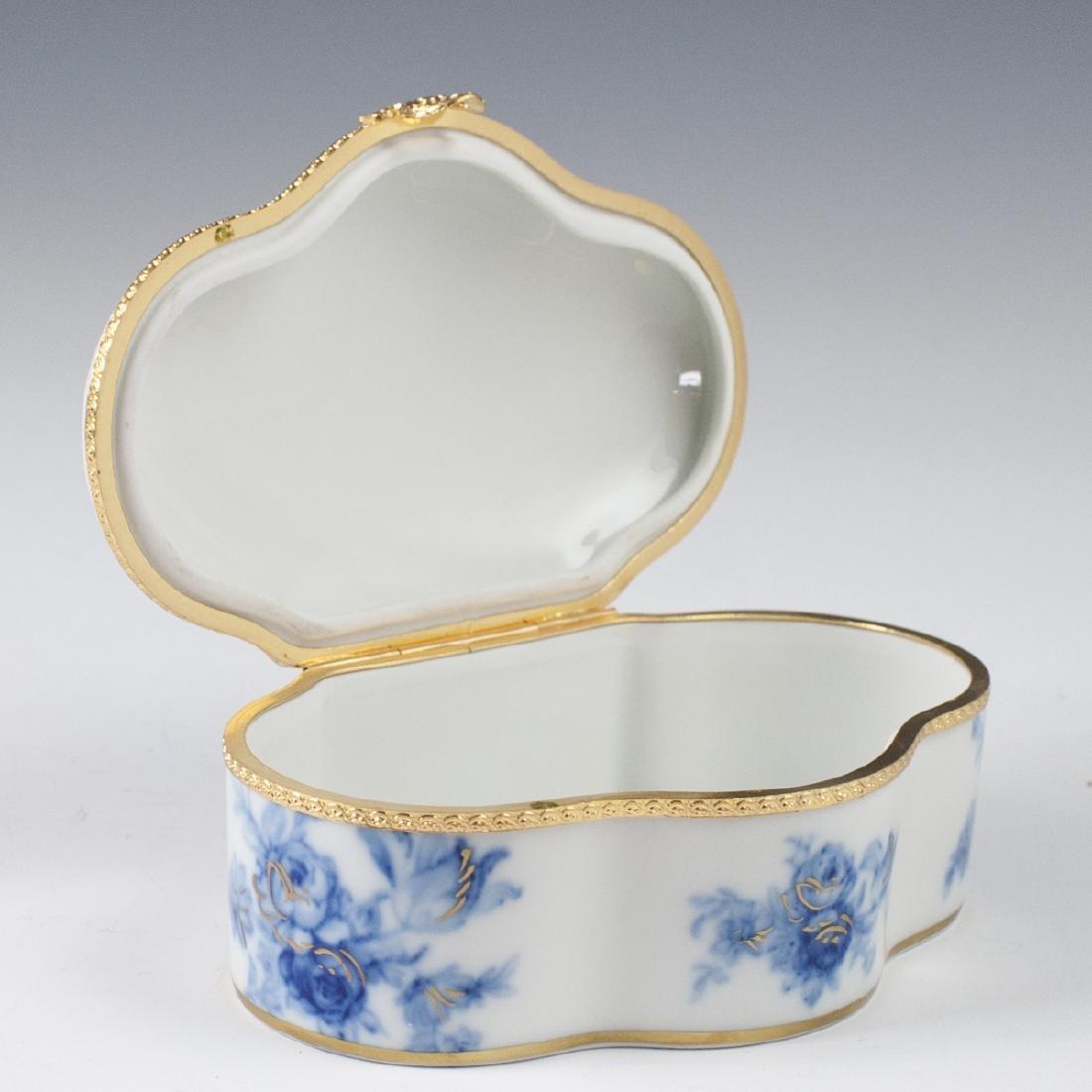 MNP Limoges Porcelain Dresser Box - 5