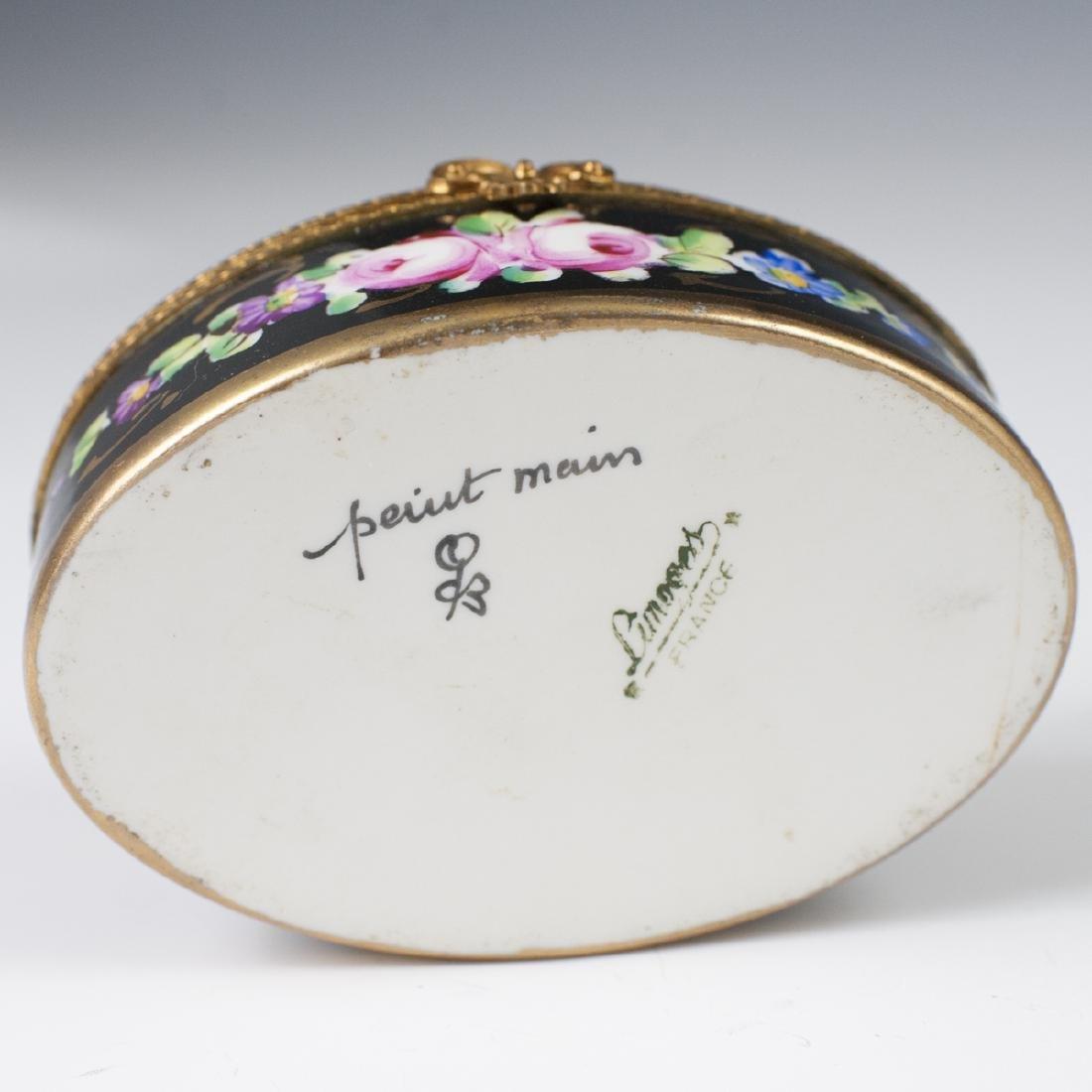 Limoges Porcelain Dresser Box - 3