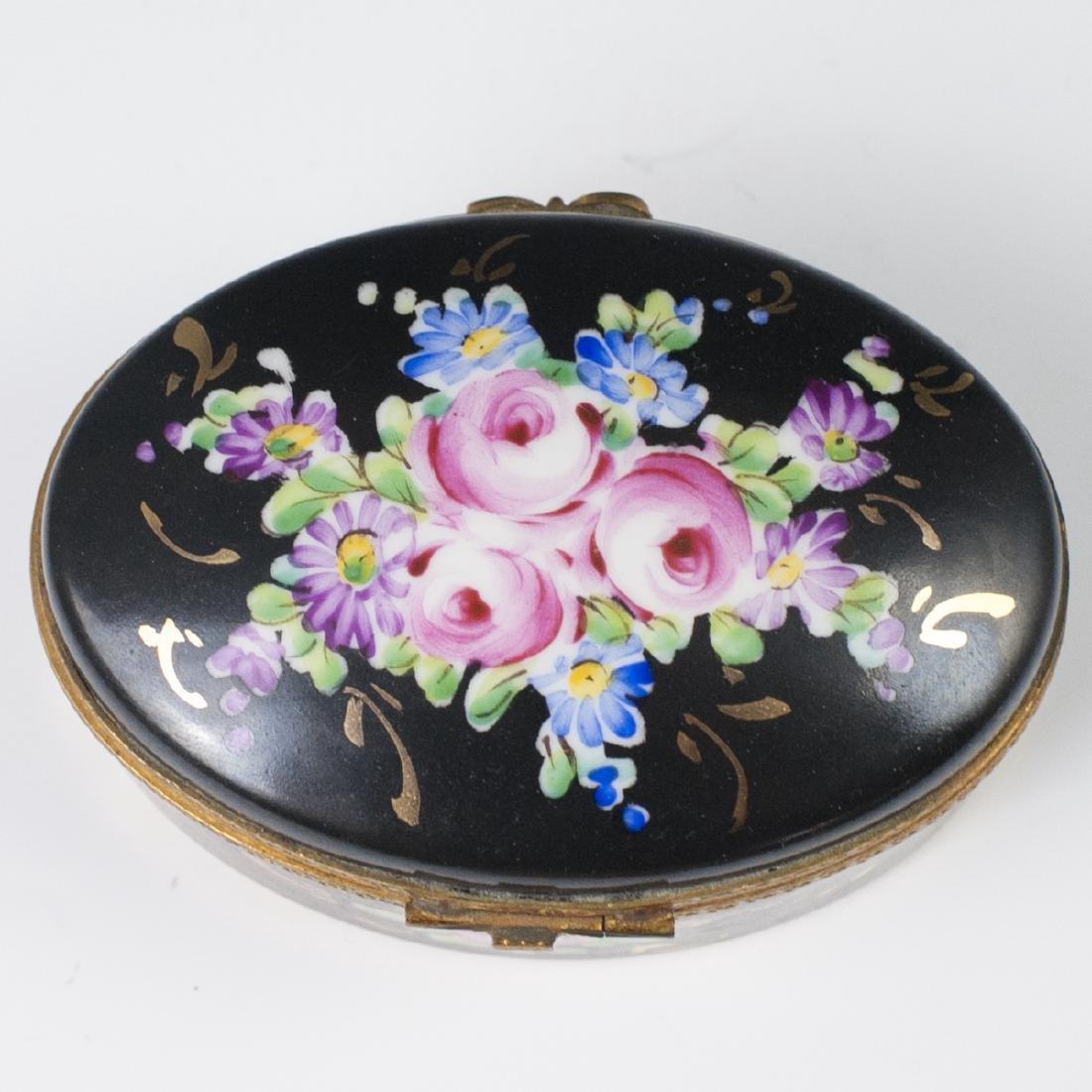 Limoges Porcelain Dresser Box - 4