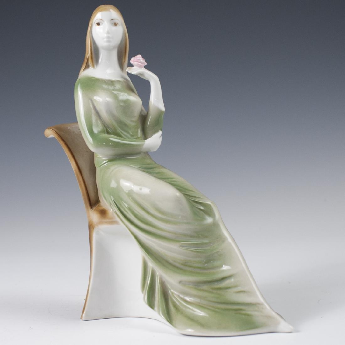 Zsolnay Porcelain Figurine