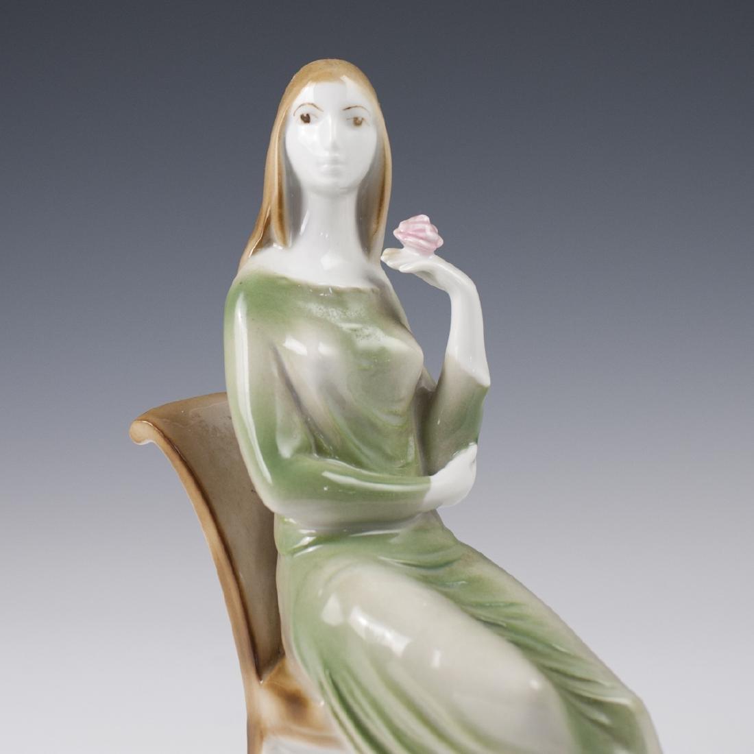 Zsolnay Porcelain Figurine - 2