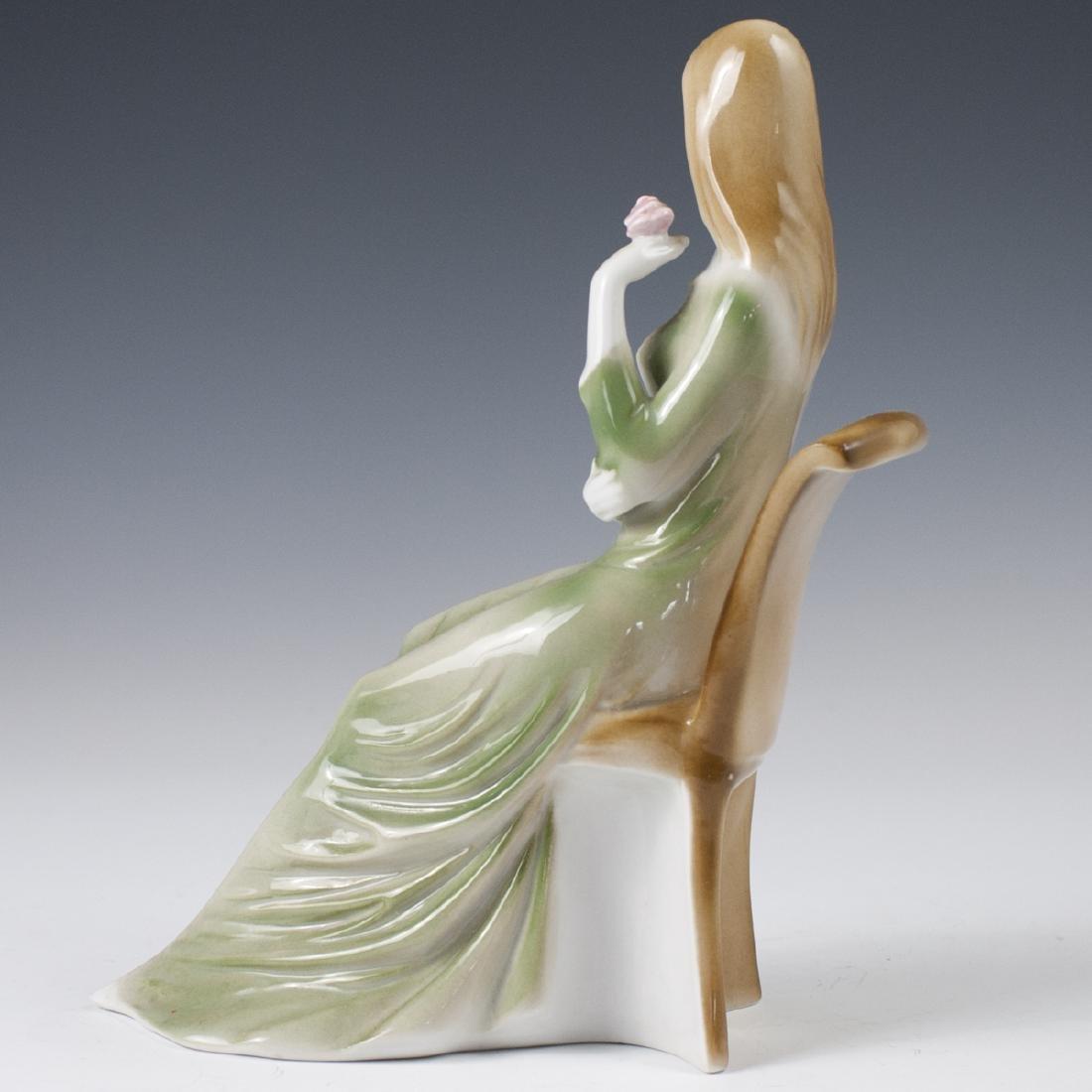 Zsolnay Porcelain Figurine - 4