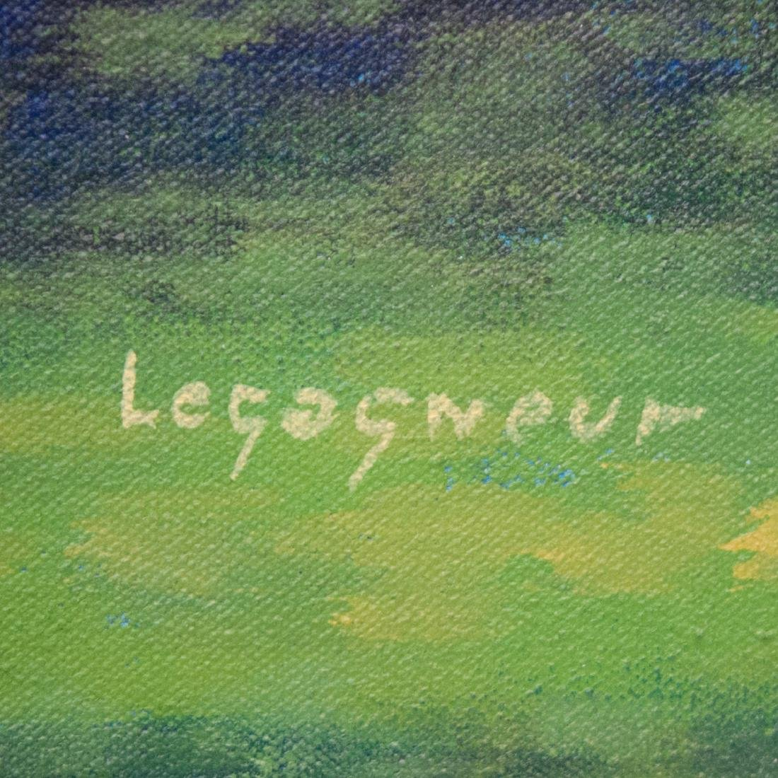 Jean Claude Legagneur (Haitian B. 1947-) - 2