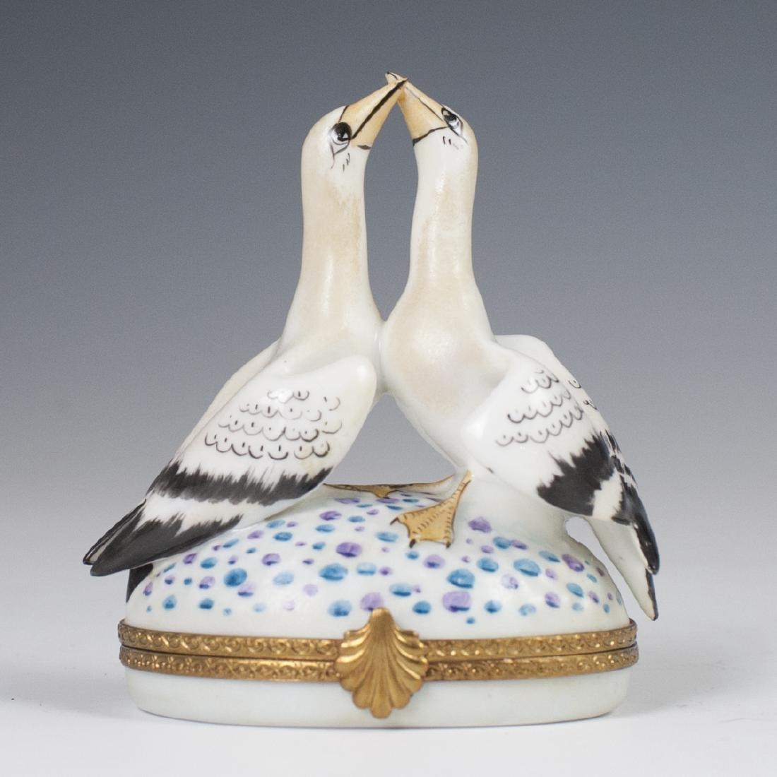 Limoges Porcelain Trinket Box