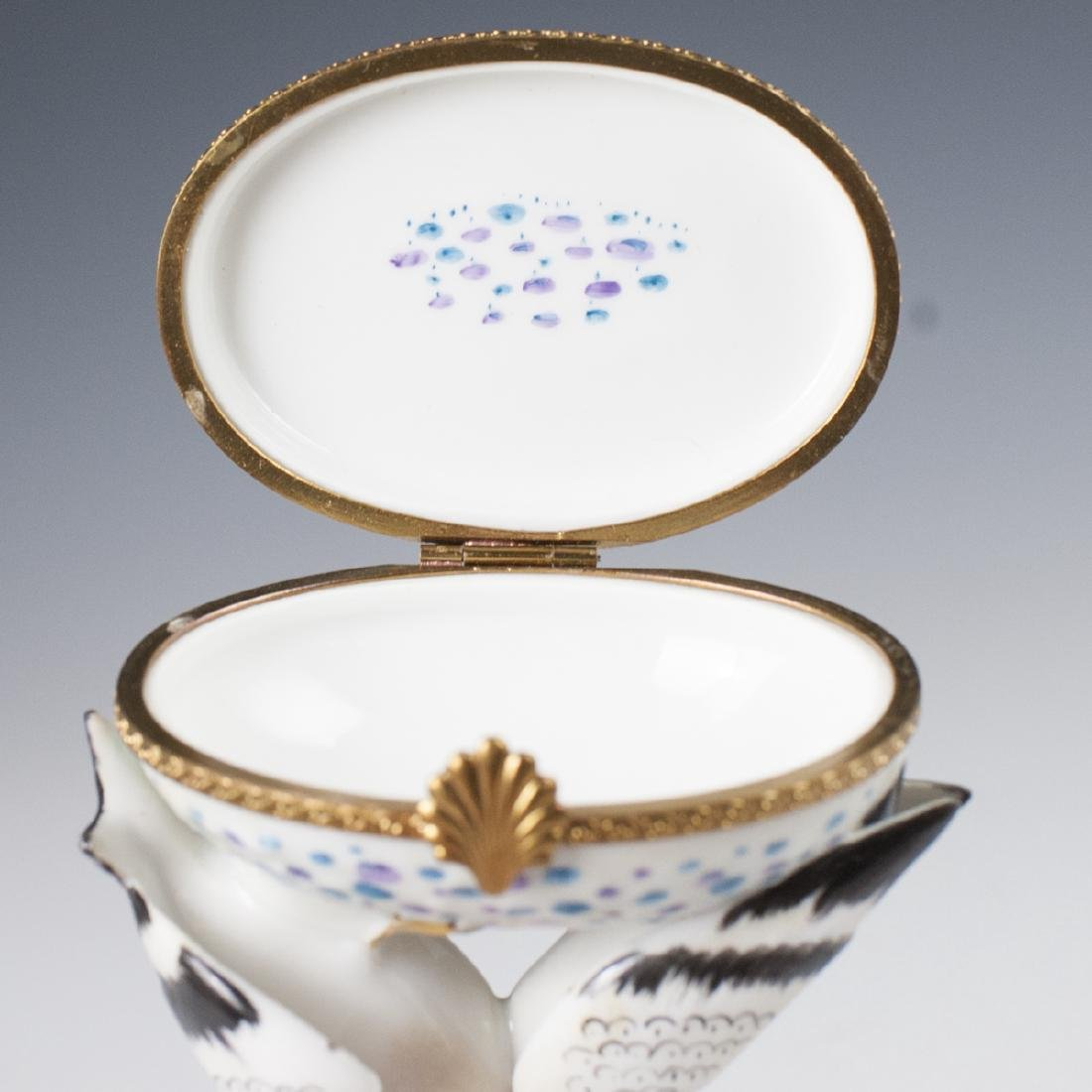 Limoges Porcelain Trinket Box - 5