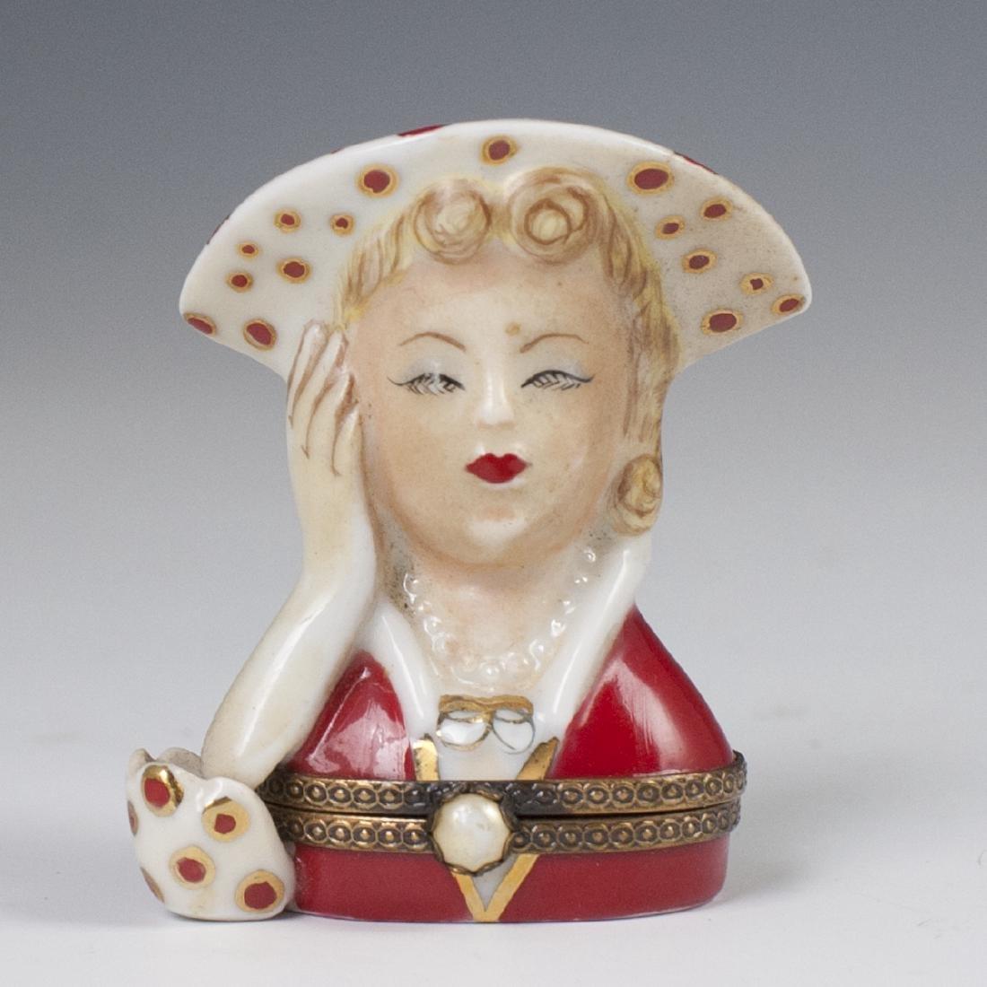 Limoges Porcelain Pill Box
