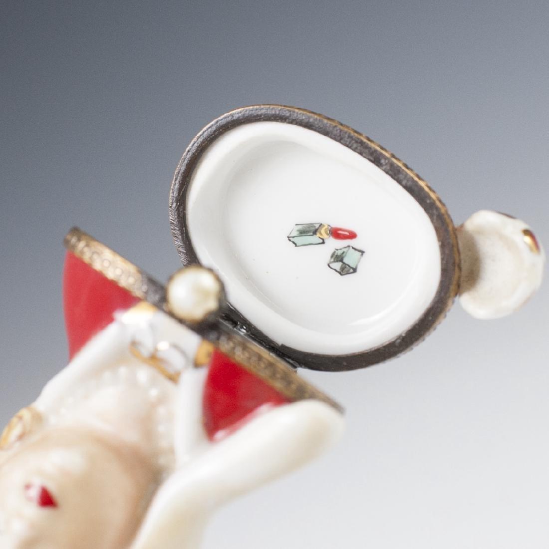Limoges Porcelain Pill Box - 3