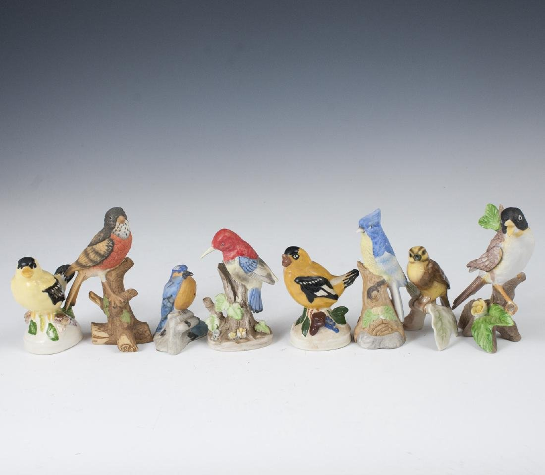 Vintage Porcelain Bird Figurines