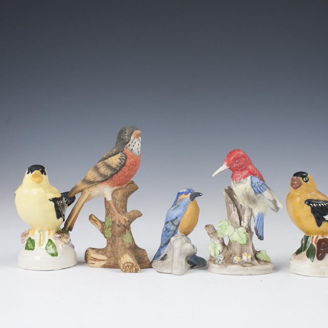 Vintage Porcelain Bird Figurines - 2