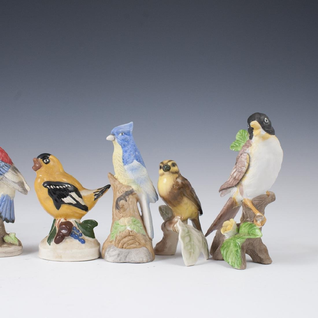 Vintage Porcelain Bird Figurines - 3
