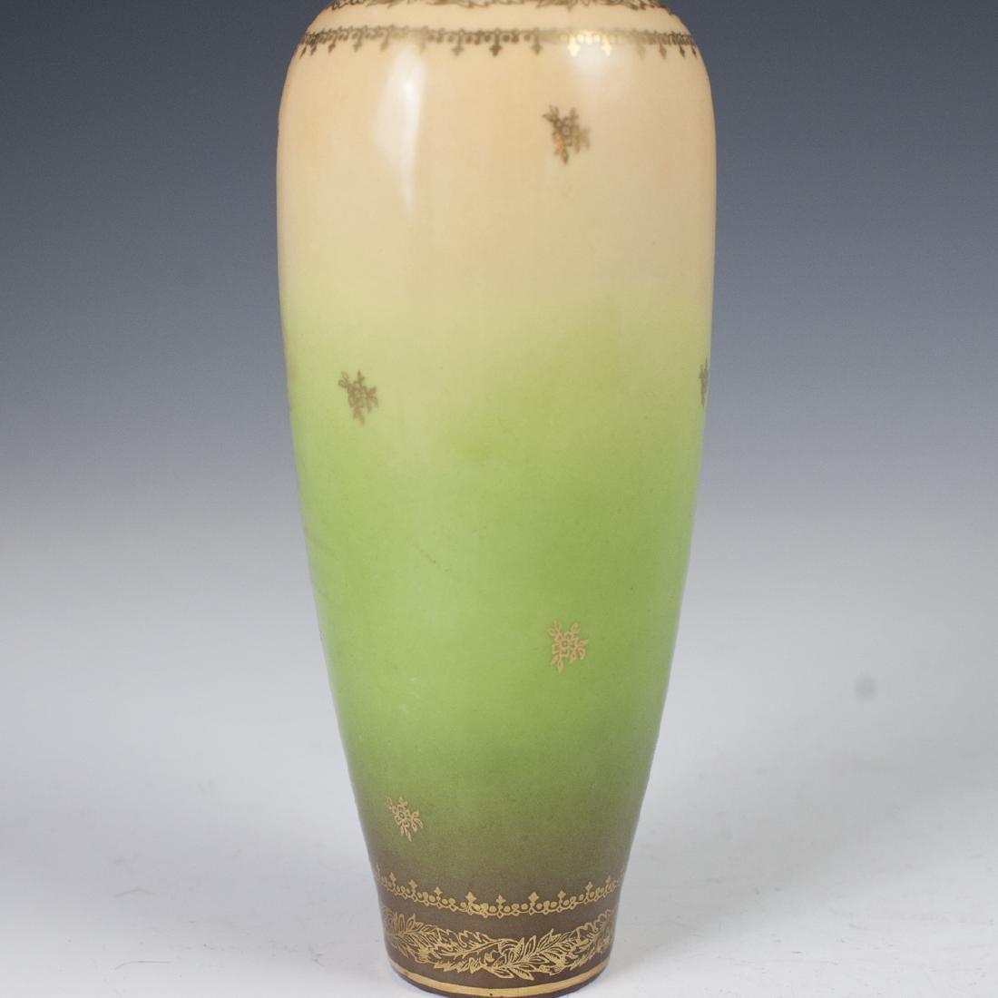 Royal Vienna Porcelain Vase - 5