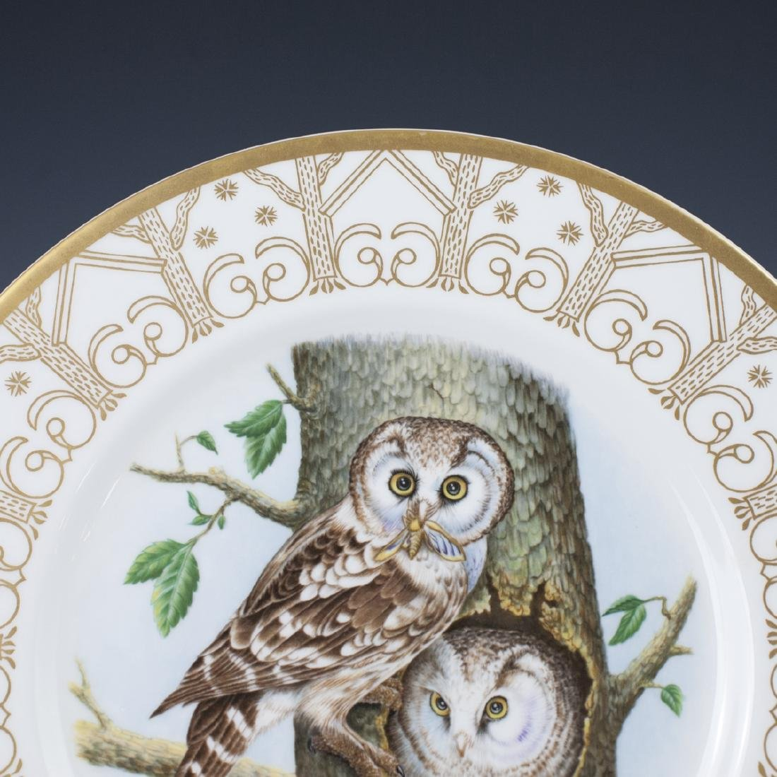 Edward Marshall Boehm Owl Plate Collection - 2