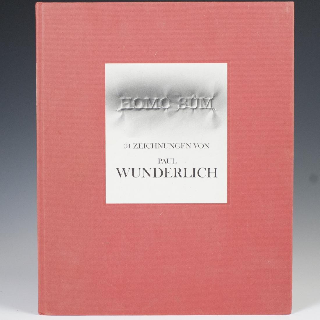 "Paul Wunderlich ""Homo Sum"" Book"