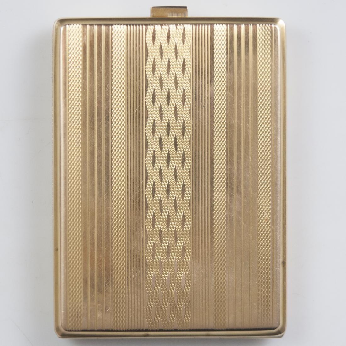 Antique 14kt Gold Cigarette Case