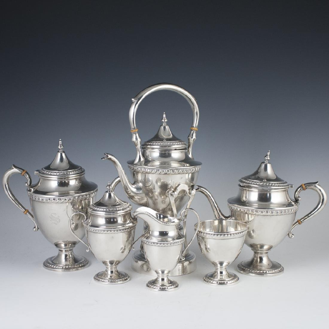 Ellmore Silver Co. Sterling Tea Set
