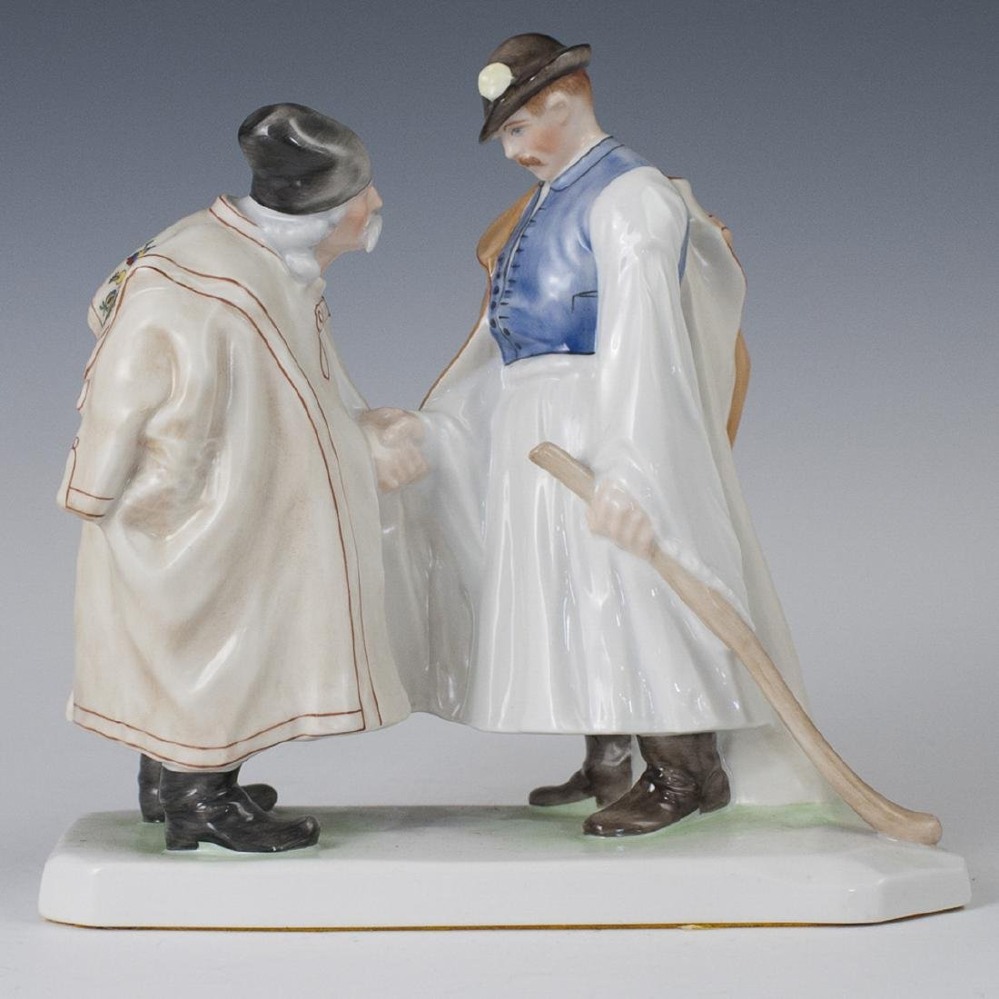 "Herend Porcelain ""Farewell"" Figurine"