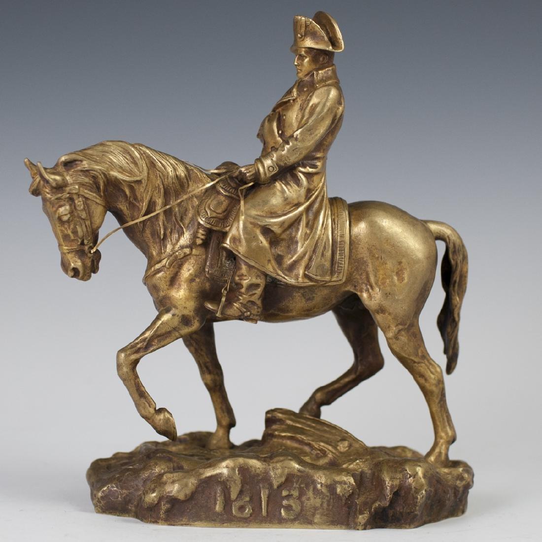 """Antique Dore Bronze Napoleon Signed:""""Conill"""""""