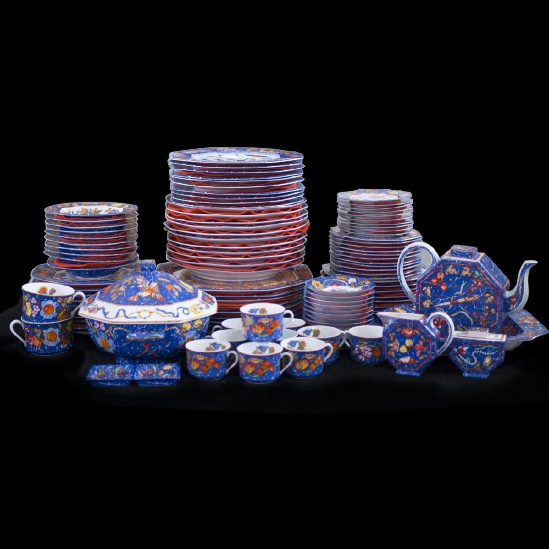 """Hermes Porcelain """"Marqueterie De Pierres D'Orient Et"""