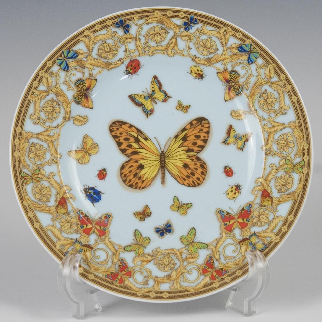"""Rosenthal Versace """"Le Jardin De Versace"""" Salad Plate"""
